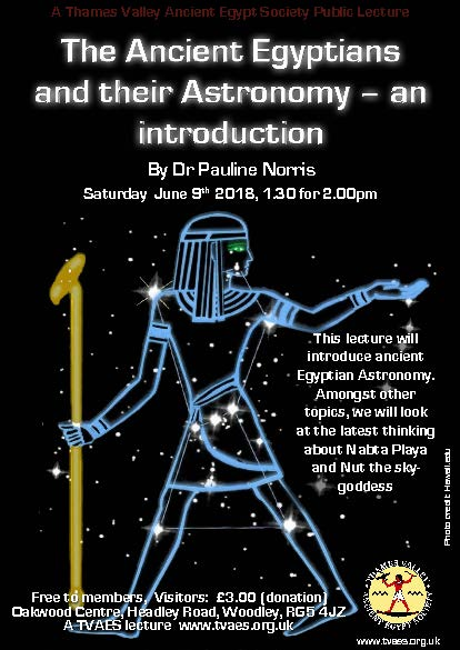 The Ancient Egyptians and their Astronomy – an introduction