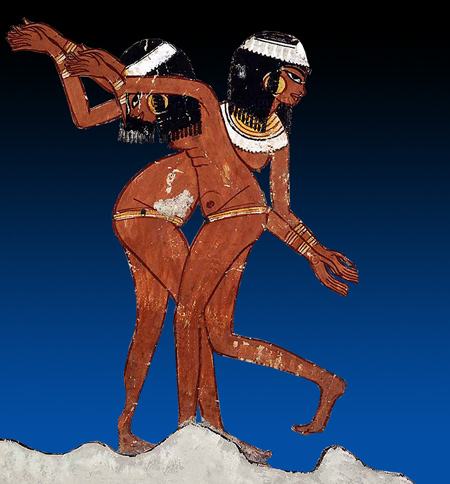 dancers ancient egypt